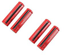 4xpcs 18650 3.7V Rechargeable Li-ion Battery 4200mAh for Flashlight Laser Torch