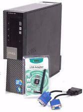 Refurbished Dell OptiPlex 980 SFF Computer Core i5 3.46Ghz 4GB 120 SSD 2-VGA