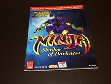 Ninja Shadow of Darkness Strategy Guide Book Playstation PS1