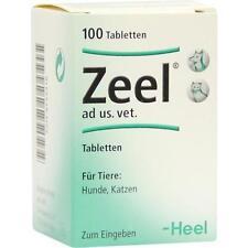 ZEEL Tabletten f.Hunde/Katzen 100 St PZN 4133318