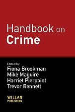HANDBOOK OF CRIME NEW PAPERBACK BOOK