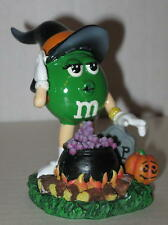 M&M's Witch Halloween Resin Figurine (Green) Approx 3""