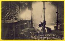 CPA BELGIQUE COUILLET USINE MÉTALLURGIQUE du HAINAUT Bassin de Coulée Steelworks