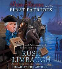 Rush Revere and the First Patriots by Rush Limbaugh (Audio CD) NEW audio book