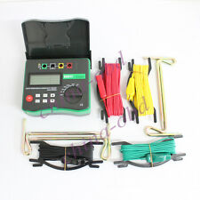 NEW DY4300A 4-Terminal Earth Resistance and Soil Resistivity Tester AA1.5V*8