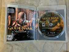 GOD OF WAR COLLECTION --- PLAYSTATION 3 PS3 Complete Case and Manual  FREE SHIP!