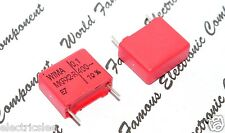 10pcs-WIMA MKP-X2R 0.1uF (0.1µF 0,1uF 100nF) 400V ac 10% pitch:15mm Capacitor