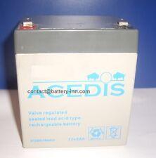 Batterie 12 Volt pour Onduleur TRUST PW-4050T 500VA