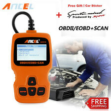 EOBD OBD2 Car Scanner Auto Diagnostic Live Data Code Reader Check Engine Orange