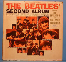 THE BEATLES' SECOND ALBUM T-2080 VINYL LP '64 MONO ORIGINAL PLAYS GREAT! VG/VG!!