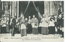CPA-45-ORLEANS - Les Fêtes de Jeanne d'Arc 7&8 mai - Sortie des Vêpres