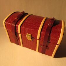 Luggage Shipping Suitcase ~ Dollhouse miniature ~ 1 twelfth scale