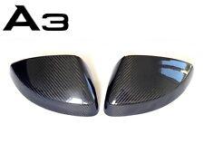 Coque rétroviseur Carbone AUDI A3 8V (2013) S3 RS3 carbon spiegelkappen mirror