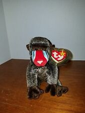 Ty Beanie Baby Cheeks the Baboon RARE and RETIRED with Errors
