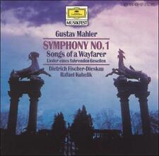 Gustav Mahler: Symphony No. 1; Songs of a Wayfarer (9/89, DG)   (cd1307)