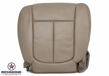 2009 2010 Ford F150 Lariat -Driver Side Bottom LEATHER Bucket Seat Cover Tan