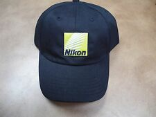 Nikon Logo Hat One-Size-Fits-All Adjustable Baseball style Cap Black+Genuine