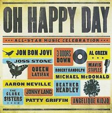 Oh Happy Day: All-Star Music Celebration, CD by Bon Jovi, Al Green & more.....