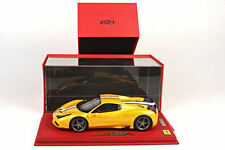 BBR 2014 Ferrari 458 Speciale A Spider Yellow Closed W/CASE 1:18* P18102CRV New!