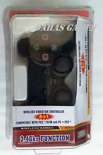 PC PS2 PS3 USB Wireless Controller Game Pad for Windows XP, 7, 8 Desktop Laptop