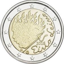 """2 Euro Gedenkmünze Finnland 2016 """" Eino Leino """"  Unz"""