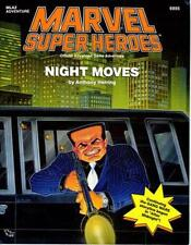 MARVEL SUPER HEROES rpg NIGHT MOVES MLA2 TSR 6895 adventure
