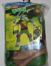 TMNT Teenage Mutant Ninja Turtles Deluxe Leonardo costumes Boys Large 10-12