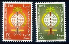 LIBIA INDIPENDENTE 1962 -  LOTTA ALLA MALARIA  SERIE    NUOVA **