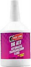 Red Line Oil 30704;Auto Trans Fluid; D6 ATF; Full Synthetic