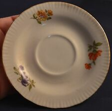 JLMENAU Von Henneberg Tea Saucer Made In German Democratic Republic Flowers