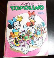 TOPOLINO nr. 1709  (con figurine adesive I LOVE TOPOLINO) **buone condizioni**