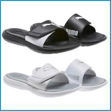 ef3b80521004 PUMA Women s Slide Sandal Adjustable Strap Comfort Foot Bed White Size 7