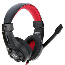 LUPUSS 3.5mm EGaming Headsets with Mic Deep Bass HiFi Headphones for PCComputer