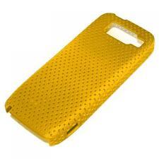Net-Case Cover Nokia E52 Gelb Schutz Hülle Schale Tasche Gehäuse Handycase Etui