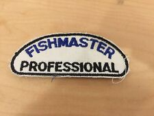 "fishing patch, 1970's, ""fish master professional"", new old stock"