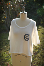 NWT Brandy Melville Crop Top MARINA GRANDE CAPRI Italy Ultra Soft One Size M-XL