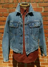 Authentic Armani Jeans Denim Jacket Size M-L Flattering Cut!