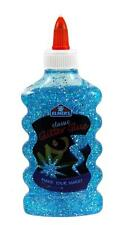 NEW Elmer's Washable GLITTER GLUE - BLUE (E323) - Dries Clear - 6 Fl Oz