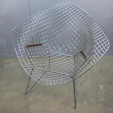 VTG Original Knoll Harry Bertoia Diamond CHAIR Chrome 1970's Mid Century Modern