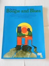 THE JOY OF BOOGIE AND BLUES - SHEET MUSIC FOR PIANO