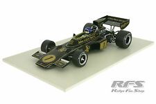 Lotus FORD 72e-Ronnie Peterson formula 1 GP Monaco 1974 - 1:18 SUNSTAR Q 18290