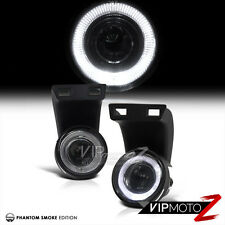 Smoke Halo Projector Fog Light Driving Lamp+Wiring/Switch Assembly 94 Dodge Ram