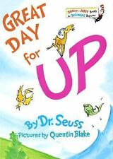 Great Day for Up! by Dr. Seuss (1974, Hardcover) Like New, Bright and Early Bk