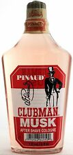PINAUD CLUBMAN ORIGINAL MUSK AFTER SHAVE COLOGNE 6 FL. OZ.