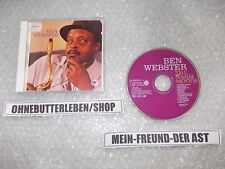 CD Jazz Ben Webster - The Warm Moods (12 Song) REPRISE ARCHIVES