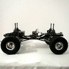 TFL CNC Aluminum Caron Frame 1/10 RC Rock Silver Crawler Chassis For Axial SCX10