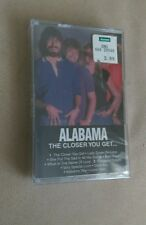 ALABAMA The Closer You Get Country Music cassette tape Brand New Sealed 1997 oop