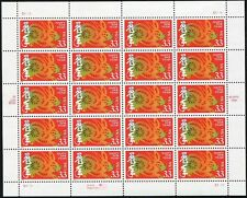 1999 Year of the Rabbit: Lunar Happy New Year Pane Sheet of 20 x 33¢ Stamps 3272