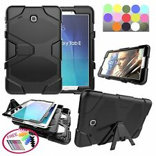 for Samsung Galaxy Tab E 9.6 SM-T560 Heavy Duty Hybrid Military Armor Case Cover