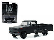 1967 FORD F-100 PICKUP TRUCK BLACK BANDIT 1/64 MODEL CAR BY GREENLIGHT 27880 A